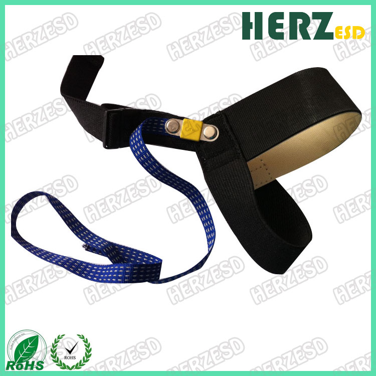 HZ-41209A 1M Ohms ESD Antistatic Heel Strap With Blue Color