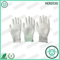 HZ-4503P ESD PU Palm Carbon Gloves