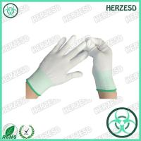 HZ-4505F ESD PU Tip Nylon Gloves