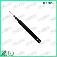 ESD-13 Professional Supplier Stainless Steel ESD Tweezers Flat Tweezers
