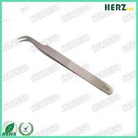 7-SA Antistatic Stainless Steel ESD Tweezers